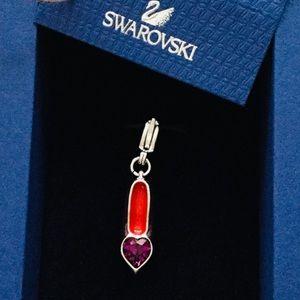Swarovski Purple High Heel Charm